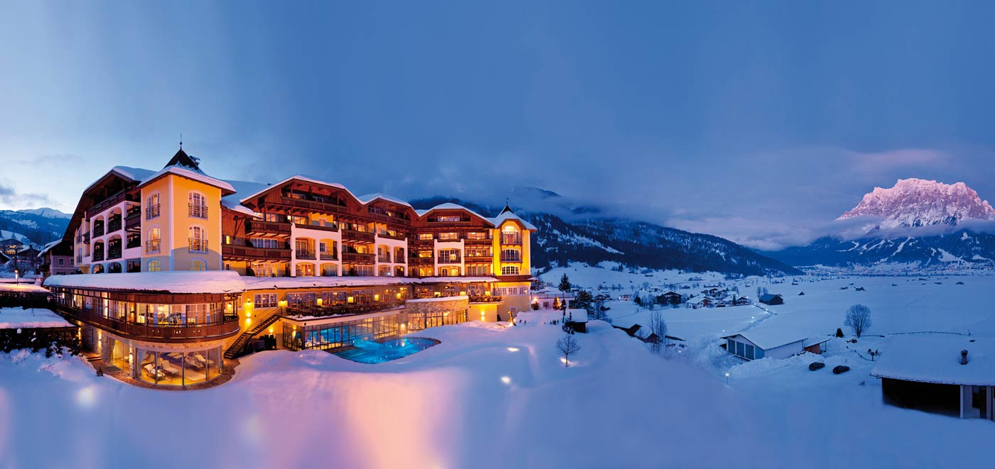 Alpine Luxury Hotel Post Lermoos: Gewinner der Kategorie Lage © Wellness Heaven
