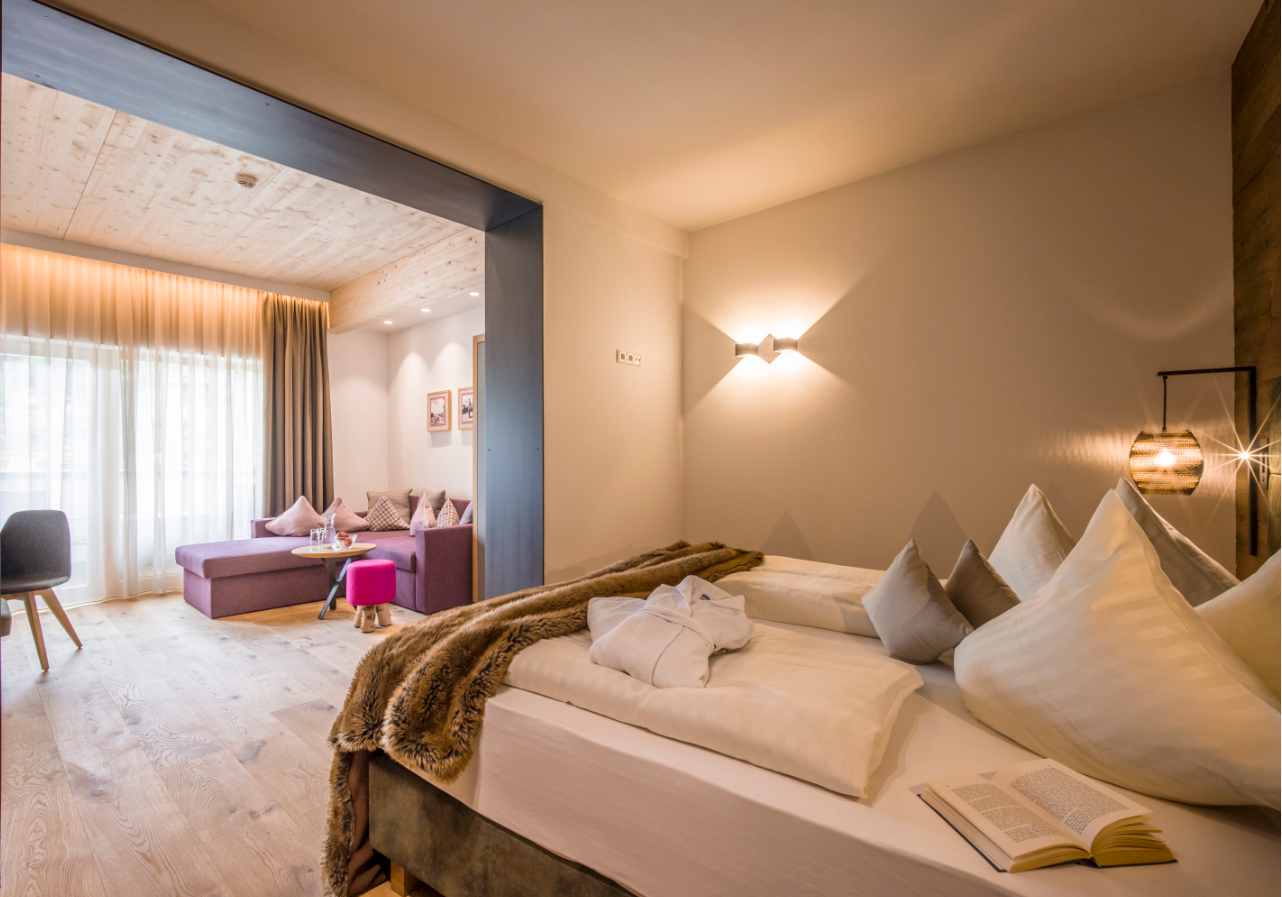 Dampfbad: Foto vom Wellnesshotel Alpin Family Resort Seetal   Wellness Tirol