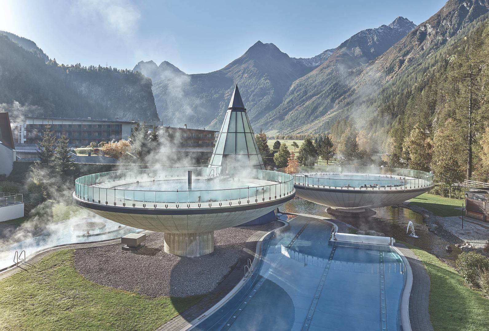 Aufguss: Foto vom Wellnesshotel AQUA DOME - Tirol Therme Längenfeld   Wellness Tirol