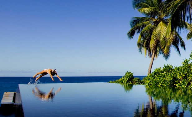 Hydroakupressurbad: Foto vom Wellnesshotel Banyan Tree Seychellen | Wellness Seychellen
