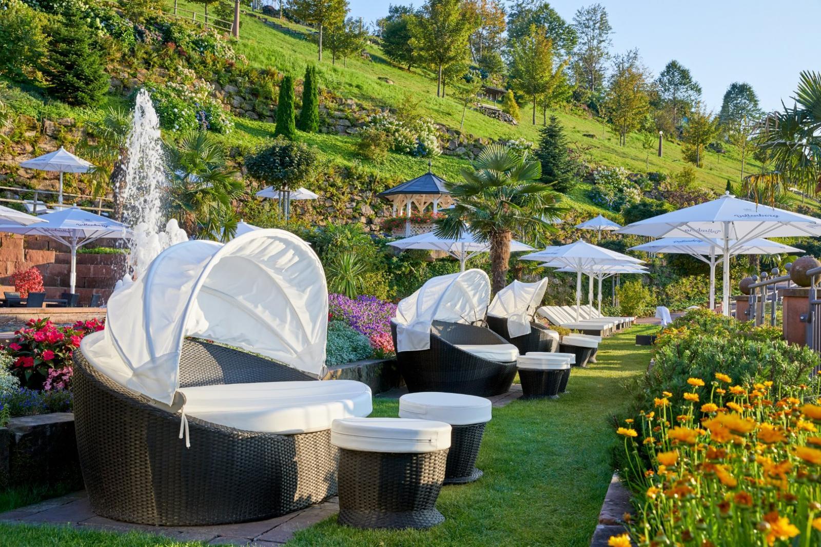 Aufguss: Foto vom Wellnesshotel Schwarzwald Resort Dollenberg - Relais & Châteaux | Wellness Baden-Württemberg