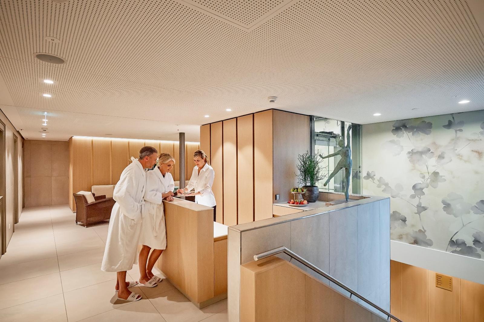 Heilerde Therapie: Foto vom Wellnesshotel Eden Spiez | Wellness Berner Oberland