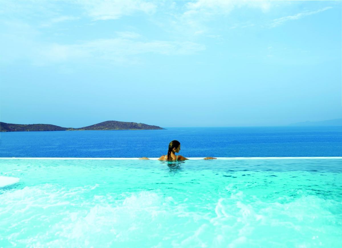 Yoga: Foto vom Wellnesshotel elounda peninsula ALL SUITE HOTEL | Wellness Kreta
