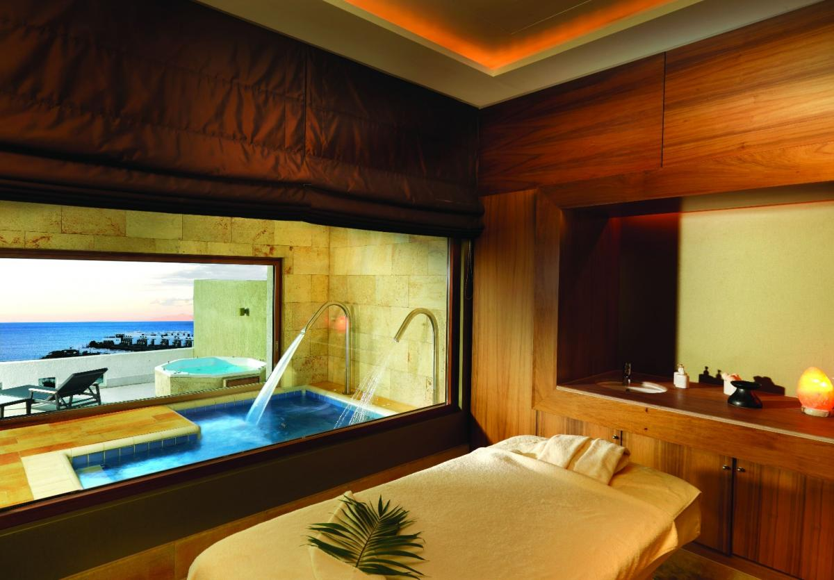 Kieselerde: Foto vom Wellnesshotel elounda peninsula ALL SUITE HOTEL | Wellness Kreta