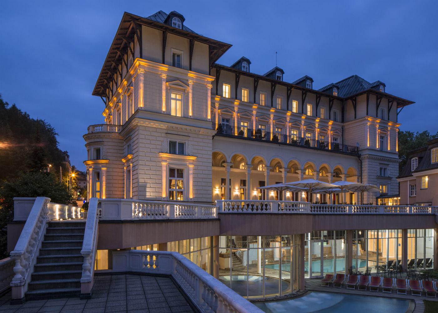 Wellness Marienbad Karlsbad Hotel