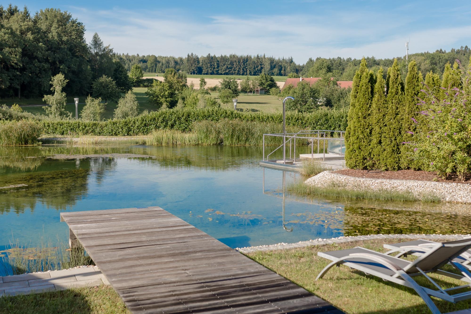 Ohrakupunktur: Foto vom Wellnesshotel Geinberg5 Private SPA Villas | Wellness Oberösterreich