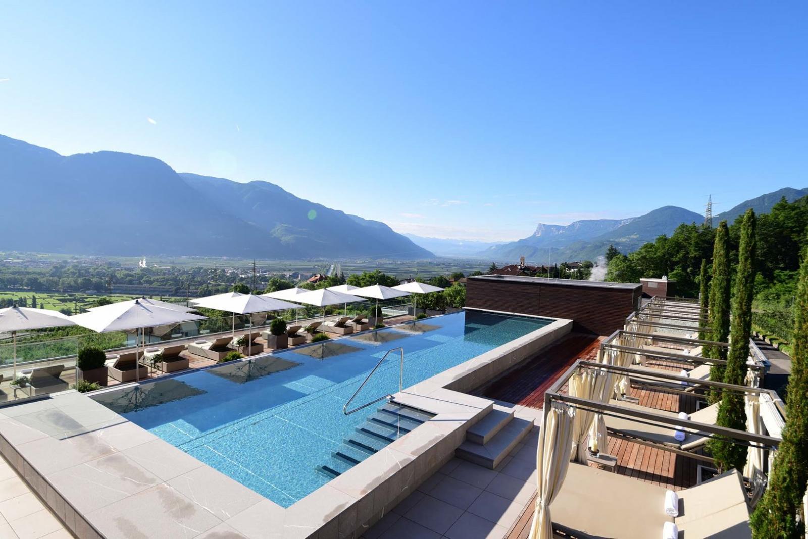 Hydrojet: Foto vom Wellnesshotel Giardino Marling | Wellness Südtirol