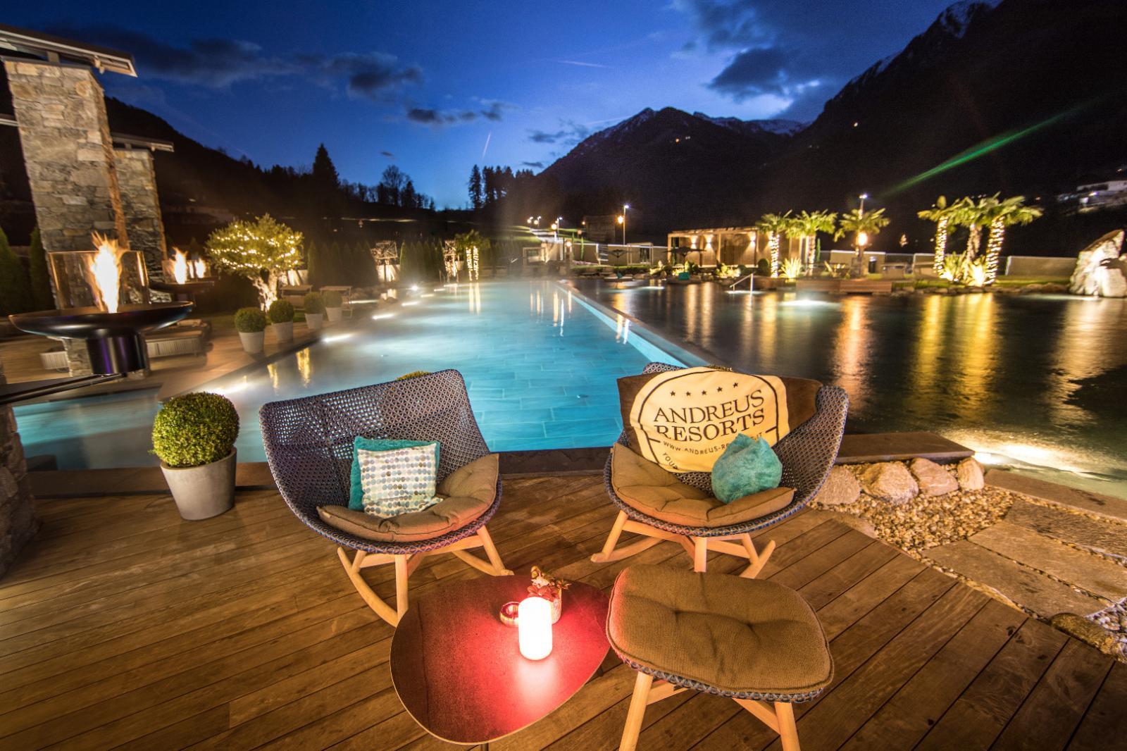 Kipress: Foto vom Wellnesshotel Golf Lodge Andreus | Wellness Südtirol