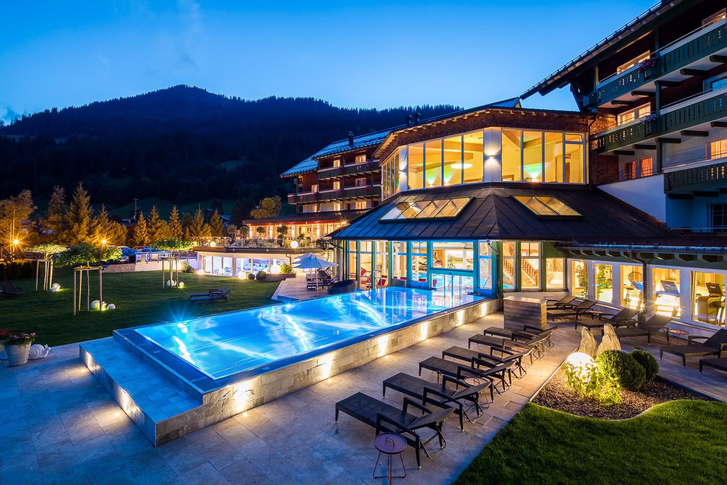Edelstein-Sauna: Foto vom Wellnesshotel Hallers Genuss & Spa Hotel | Wellness Vorarlberg