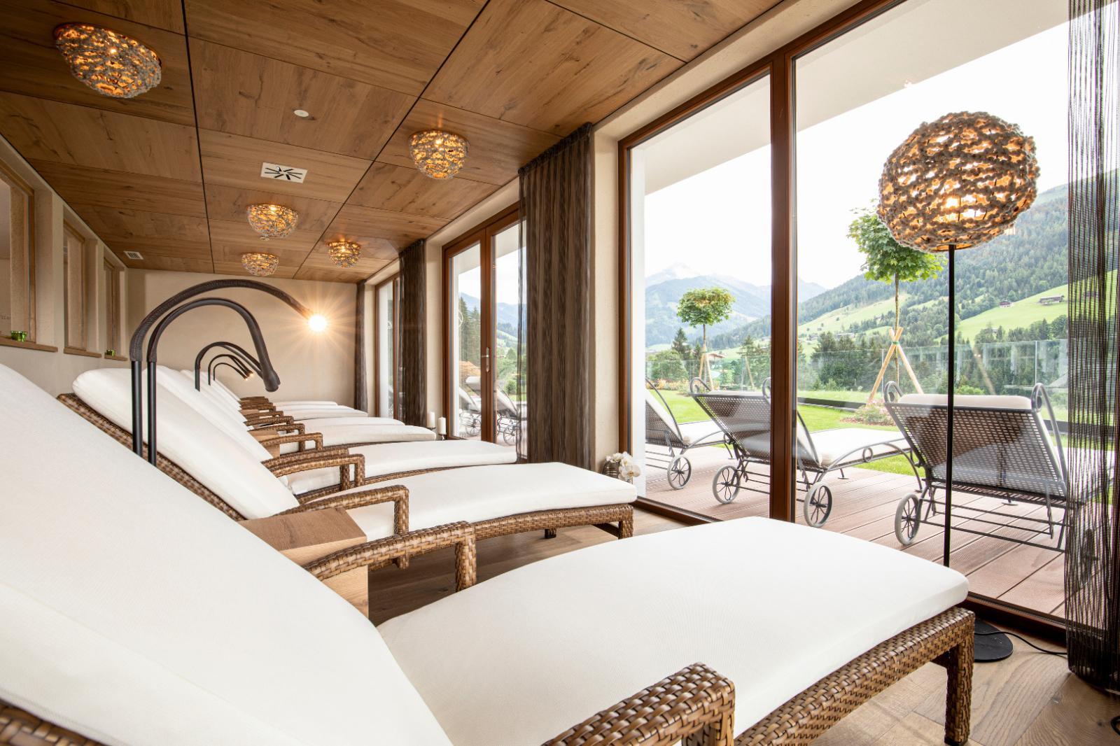 Steinöl: Foto vom Wellnesshotel Der Alpbacherhof ****s Natur & Spa Resort | Wellness Tirol