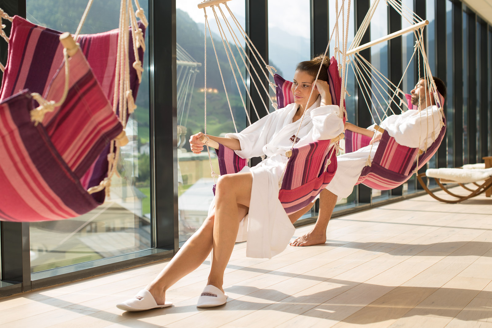 Hydrojet: Foto vom Wellnesshotel Bergland Hotel Sölden   Wellness Tirol
