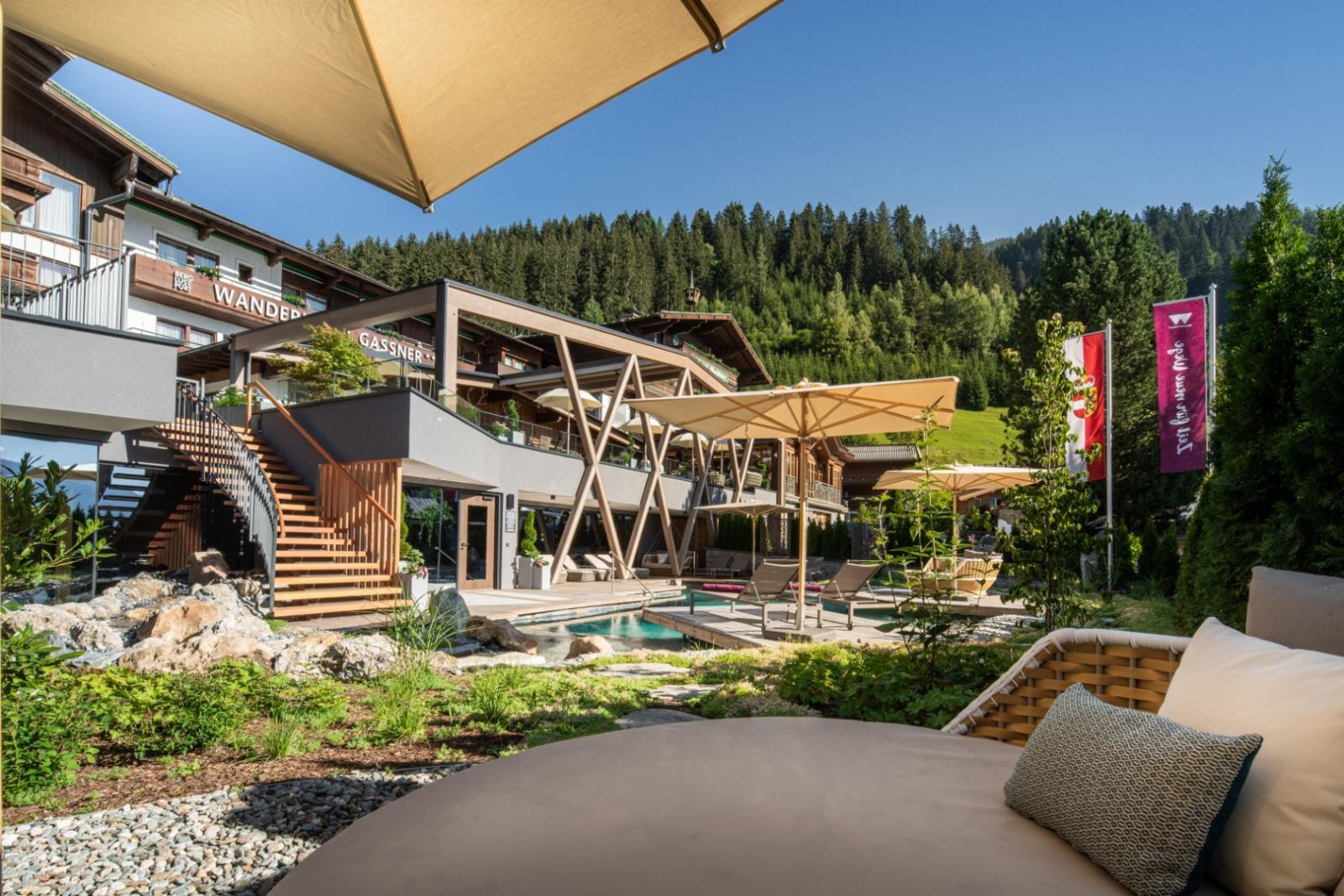 Farb-Therapie: Foto vom Wellnesshotel Hotel Gassner ****Superior   Wellness Salzburger Land