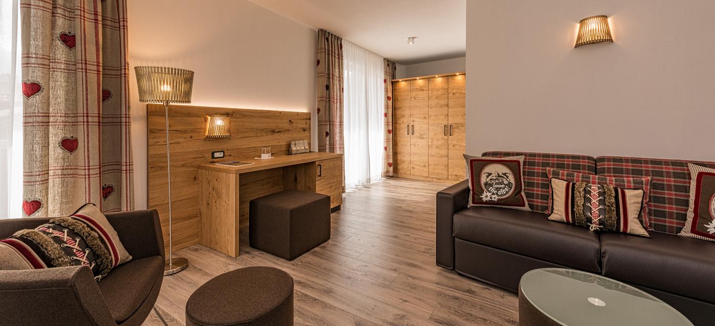 Vichy-Dusche: Foto vom Wellnesshotel Hotel Mein Matillhof ****Superior | Wellness Südtirol