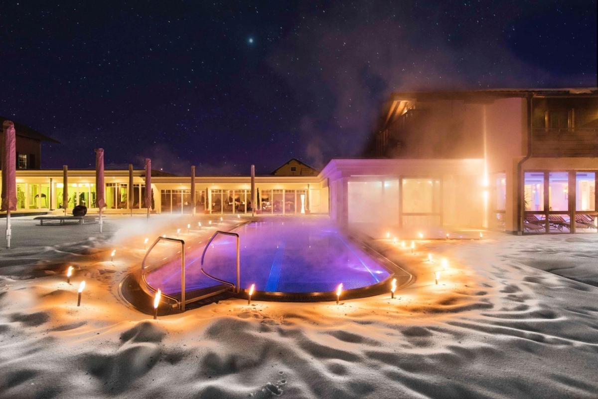 Hotel Oswald Landromantik Spa Bereich