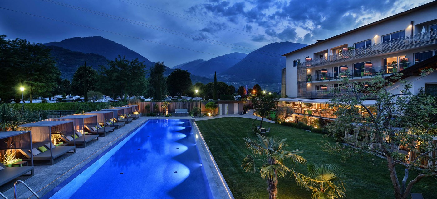 Wellnesshotels lana s dtirol bewertungen f r wellness for Hotel in lana sudtirol
