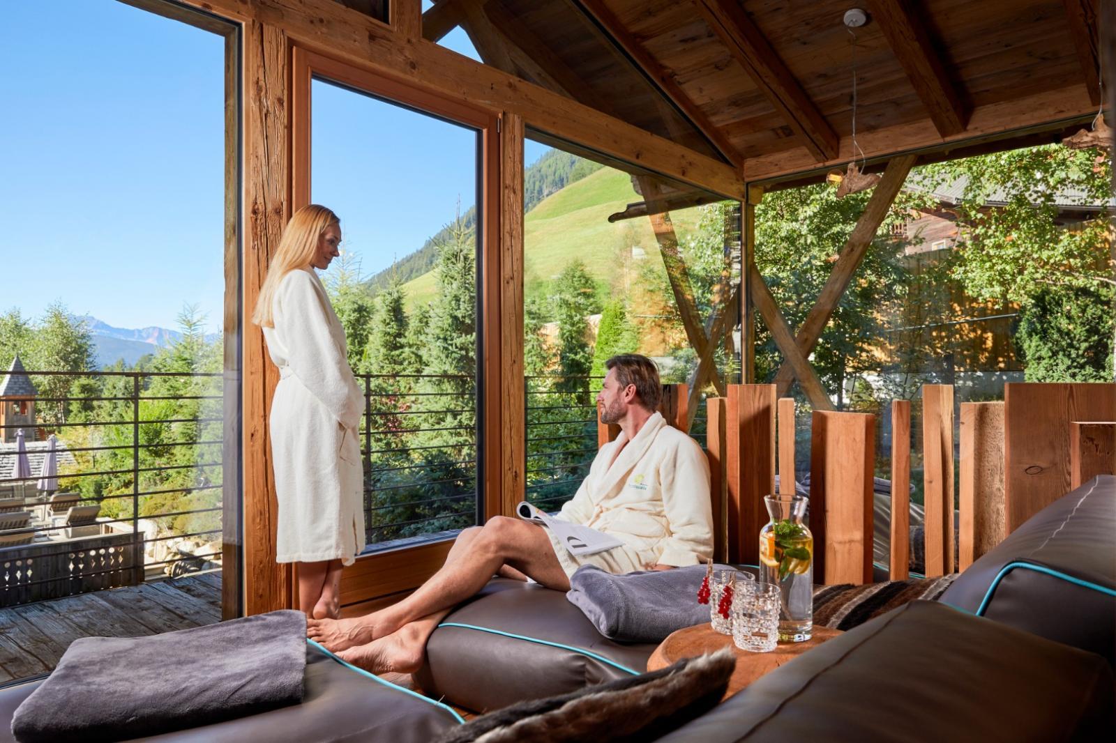 Fangokur: Foto vom Wellnesshotel Hotel Quelle Nature Spa Resort   Wellness Südtirol