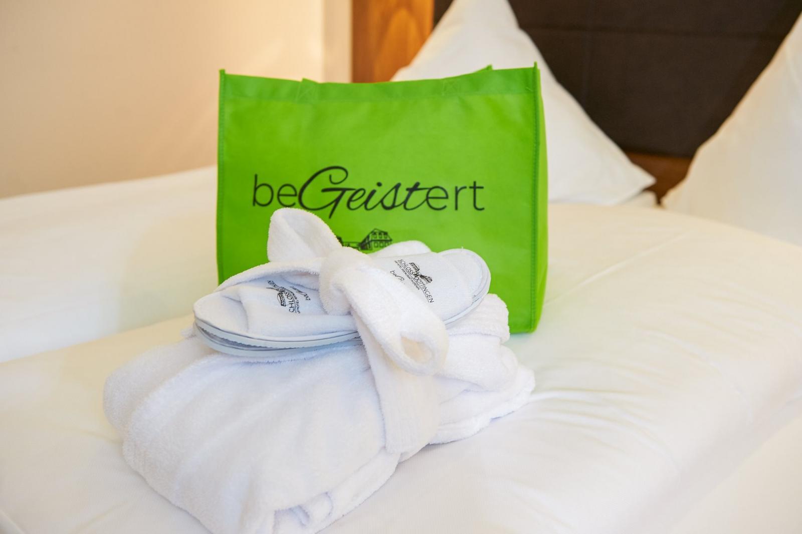 Algenpackungen: Foto vom Wellnesshotel Hotel Schloss Döttingen | Wellness Baden-Württemberg