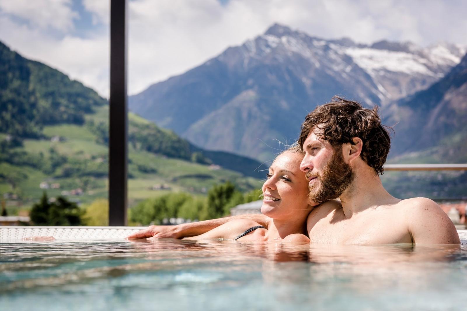 Erdwallsauna: Foto vom Wellnesshotel Hotel Therme Meran | Wellness Südtirol