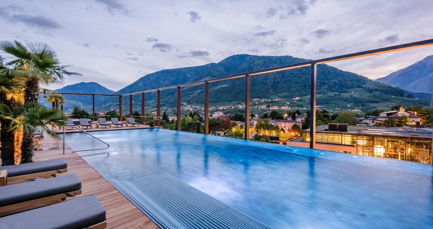 Jakuzzi: Foto vom Wellnesshotel Hotel Therme Meran   Wellness Südtirol