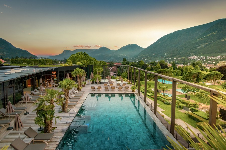 Neues Wellnesshotel: Hotel Therme Meran | Meran