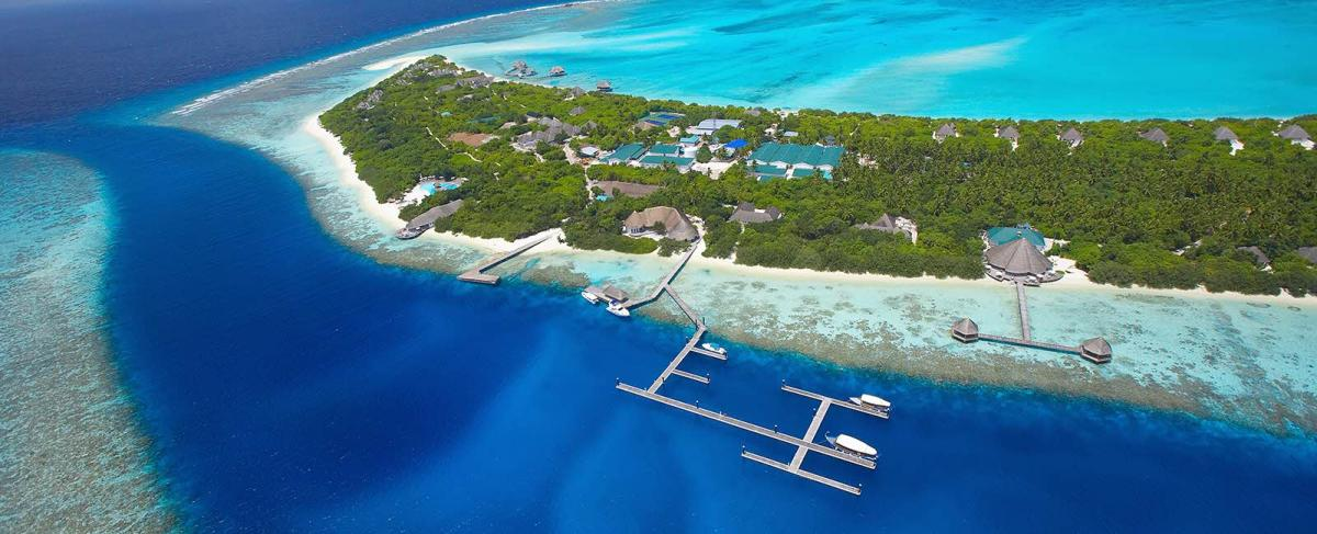 Edelstein-Sauna: Foto vom Wellnesshotel Island Hideaway | Wellness Haa Alifu Atoll