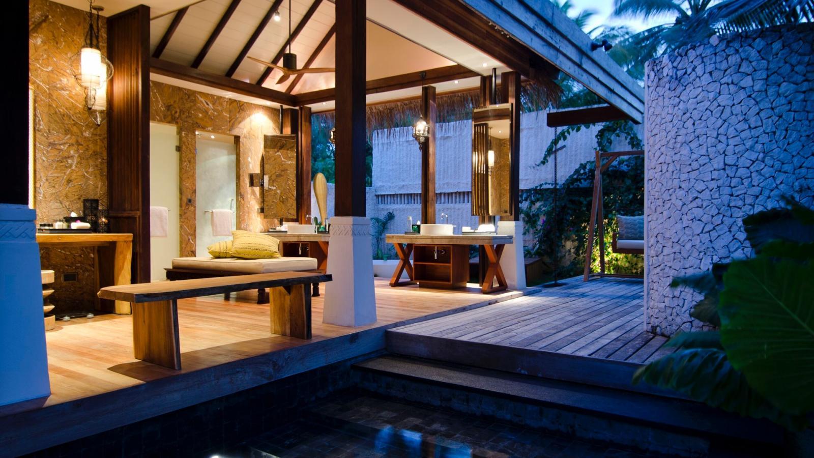 Bild zum Wellness-Angebot Strandvilla mit Pool