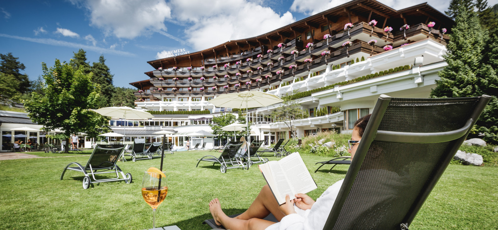 Wellnesshotel Krumers Alpin Resort & Spa | Seefeld in Tirol