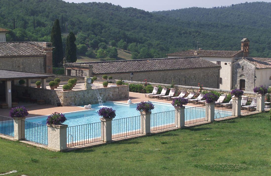 Fangokur: Foto vom Wellnesshotel La Bagnaia Resort | Wellness Toskana
