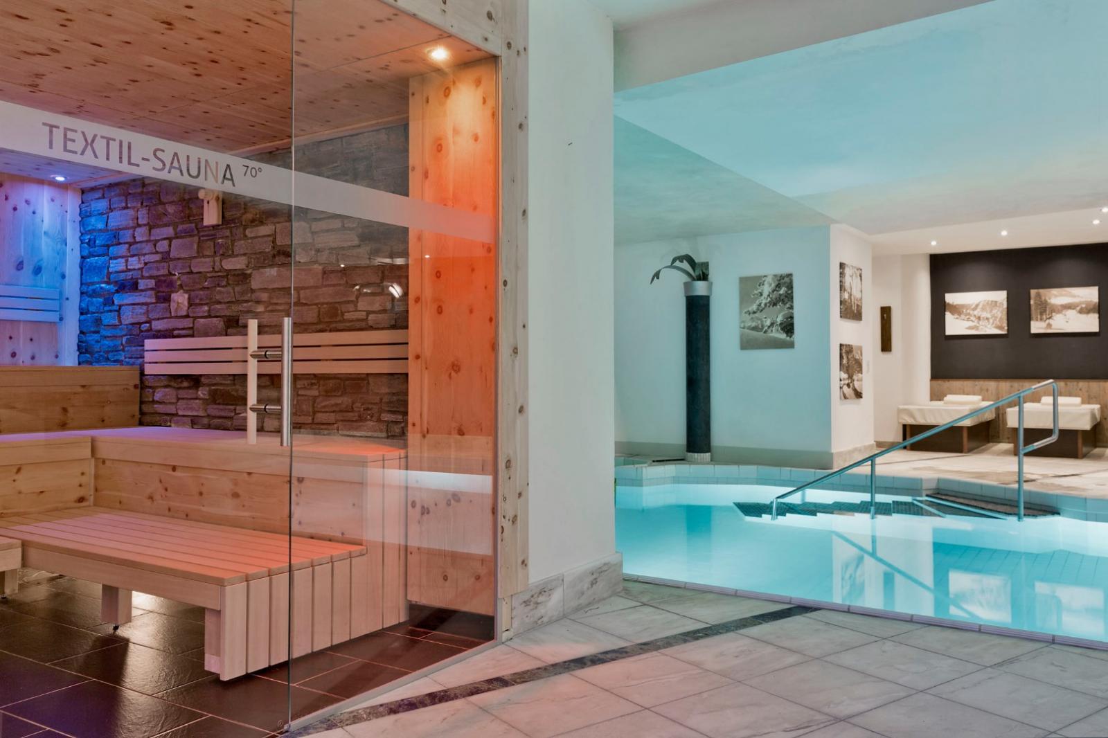 Dampfbad: Foto vom Wellnesshotel Natur & Spa Hotel Lärchenhof | Wellness Tirol
