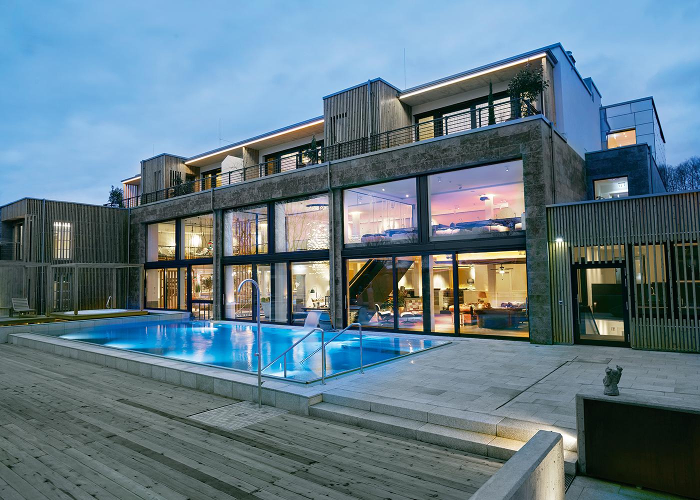 Wellnesshotels in oberhausen nordrhein westfalen for Moderne hotels nrw