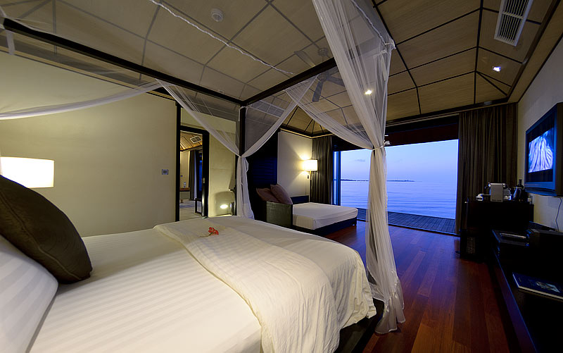 Slimpoint: Foto vom Wellnesshotel Lily Beach Resort & Spa | Wellness Ari Atoll