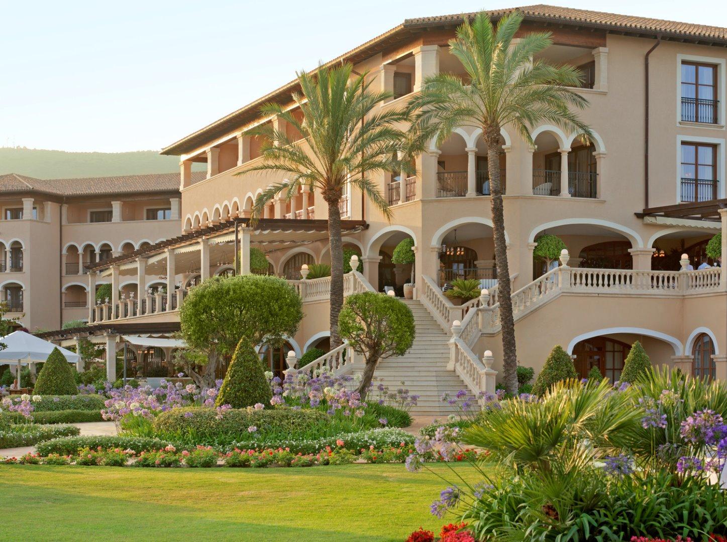 Meeressandpeeling: Foto vom Wellnesshotel The St. Regis Mardavall Mallorca | Wellness Mallorca