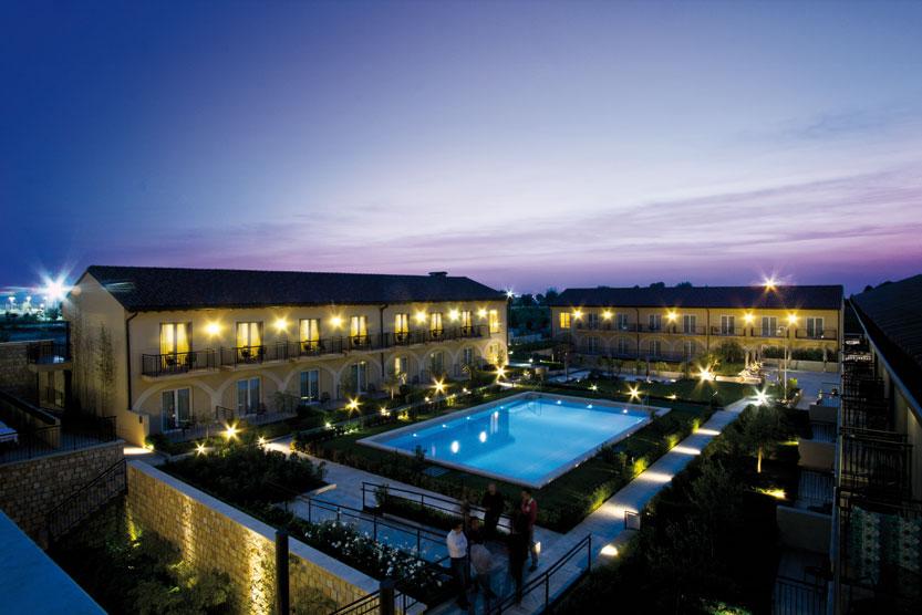 Aqua Balancing: Foto vom Wellnesshotel Hotel Principe di Lazise | Wellness Gardasee
