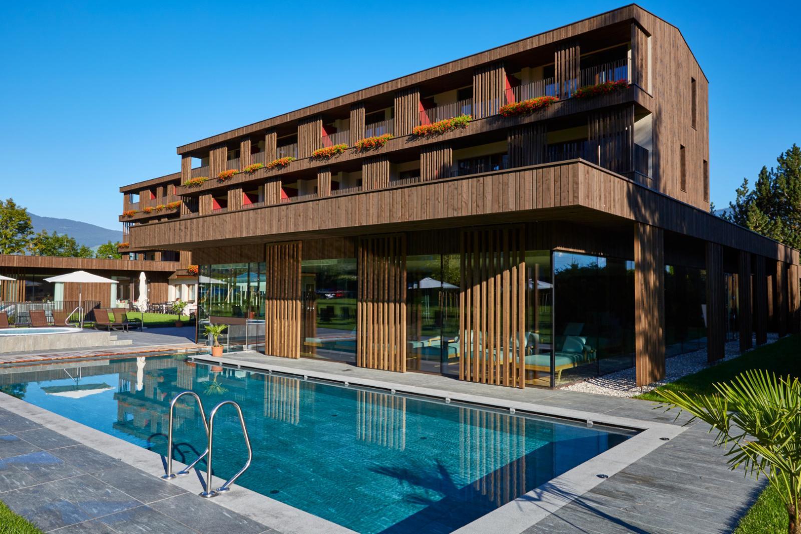 Rubners hotel rudolf bruneck reischach hotelbewertung for Modernes wellnesshotel