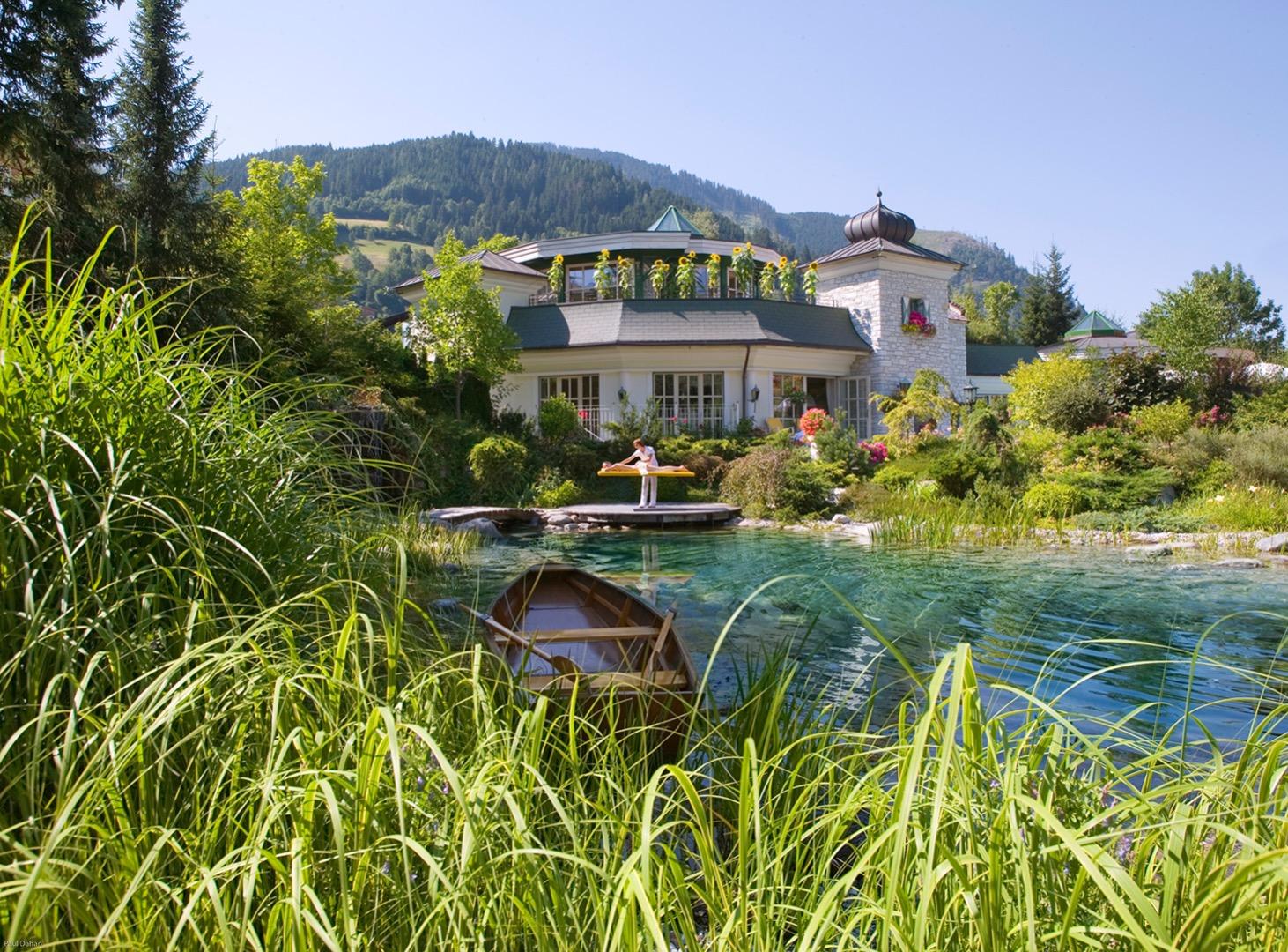 Edelstein-Sauna: Foto vom Wellnesshotel Hotel Salzburgerhof | Wellness Salzburger Land