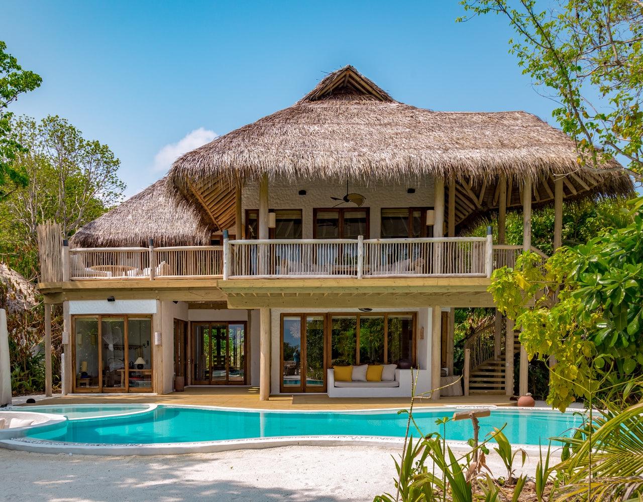 Rasulbad (auch Rhassoul): Foto vom Wellnesshotel Soneva Fushi | Wellness Baa-Atoll