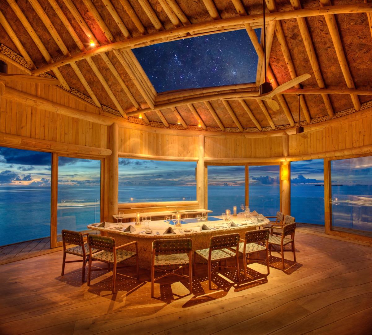 Thai-Massage: Foto vom Wellnesshotel Soneva Fushi | Wellness Baa-Atoll