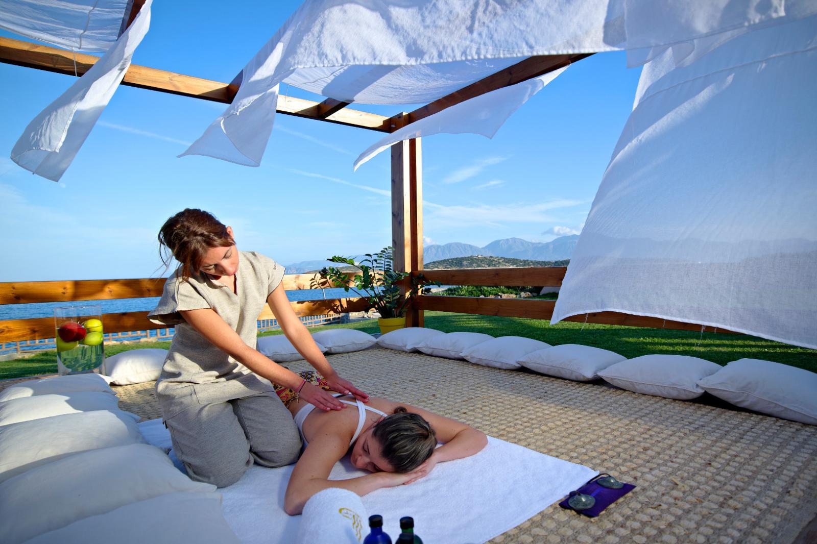 Qi Chi: Foto vom Wellnesshotel St. Nicolas Bay Resort Hotel & Villas | Wellness Kreta