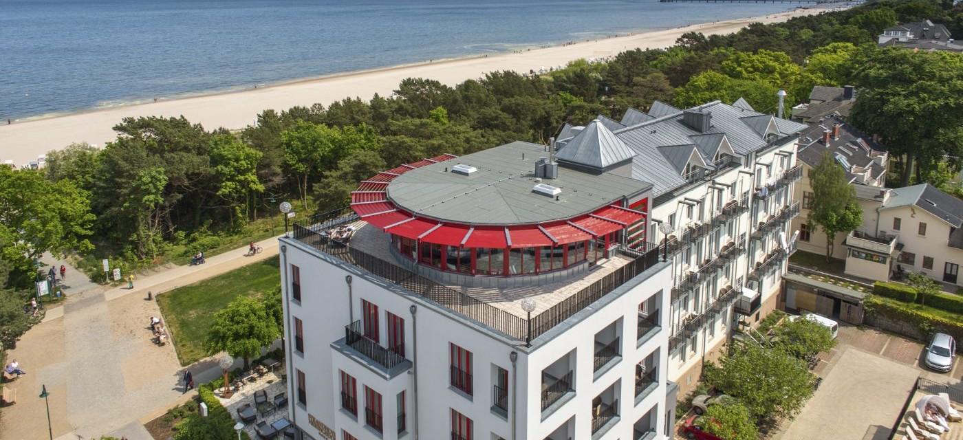 strandhotel heringsdorf seebad heringsdorf hotelbewertung. Black Bedroom Furniture Sets. Home Design Ideas