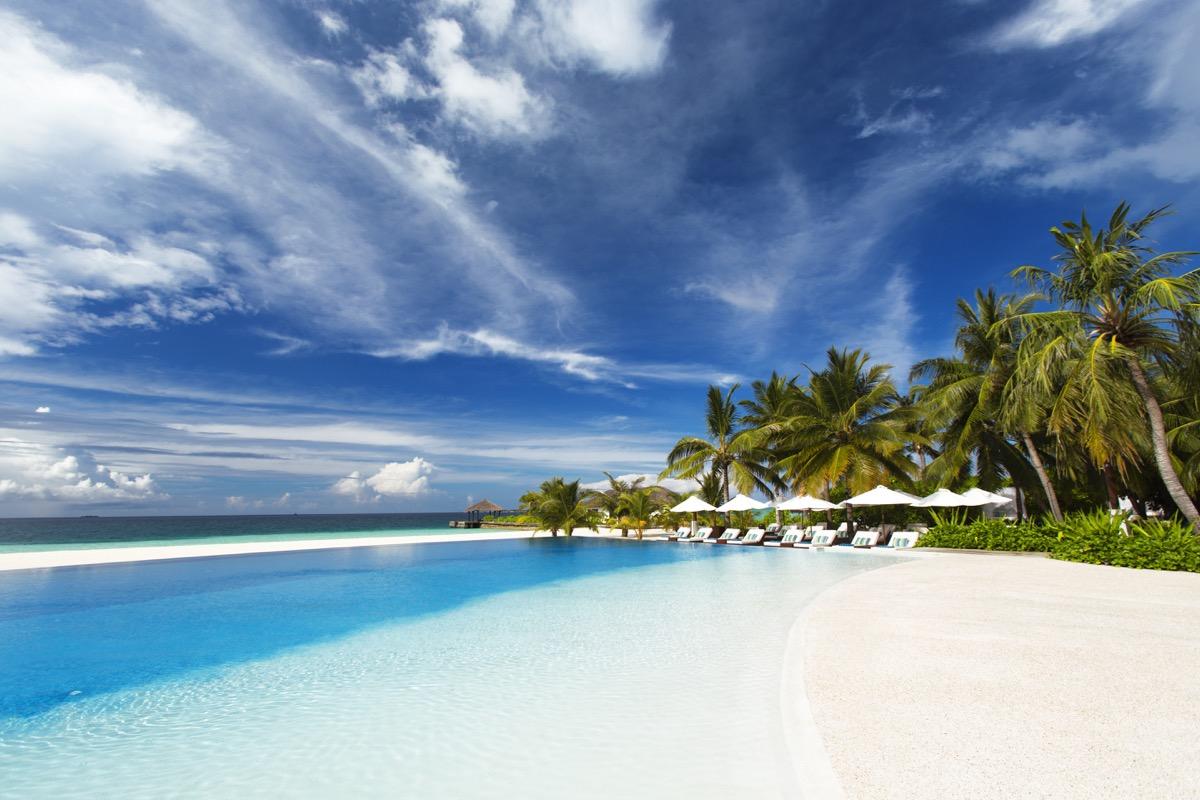 Yoga: Foto vom Wellnesshotel Velassaru Malediven Resort | Wellness Nord-Male-Atoll