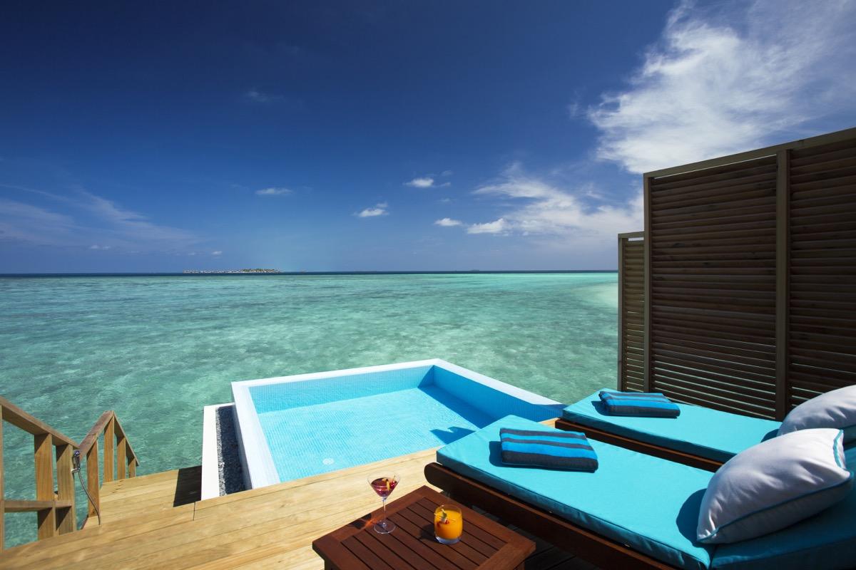 Magnetfeldtherapie: Foto vom Wellnesshotel Velassaru Malediven Resort   Wellness Nord-Male-Atoll