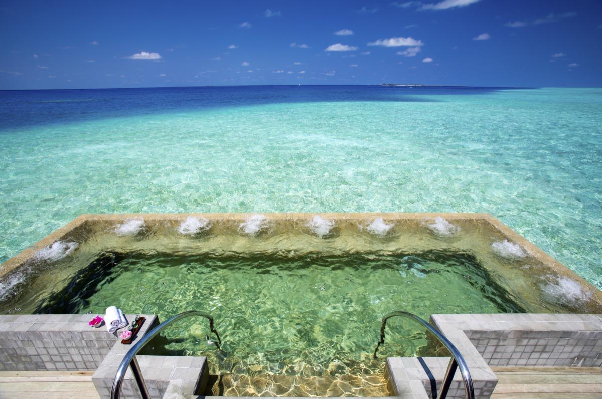 Kristallsauna: Foto vom Wellnesshotel Velassaru Malediven Resort | Wellness Nord-Male-Atoll