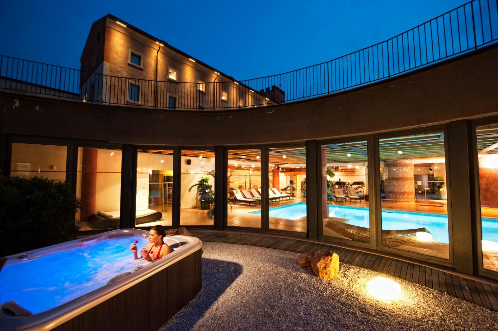 Vichy-Dusche: Foto vom Wellnesshotel Hotel Veronesi la Torre   Wellness Venetien