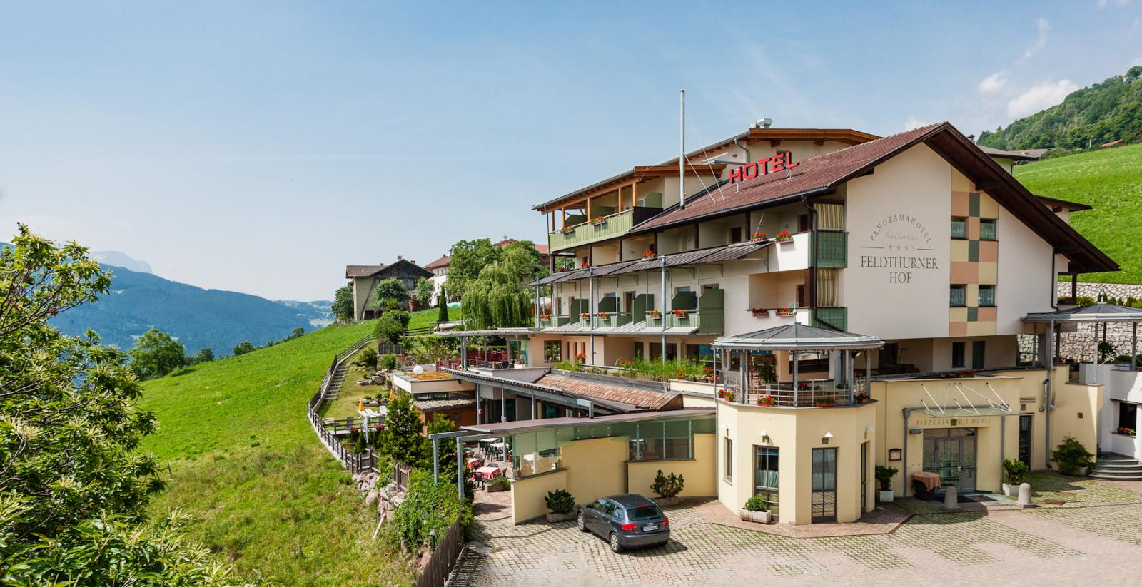 Panorama wellness hotel feldthurnerhof bilder vom for Stylische wellnesshotels