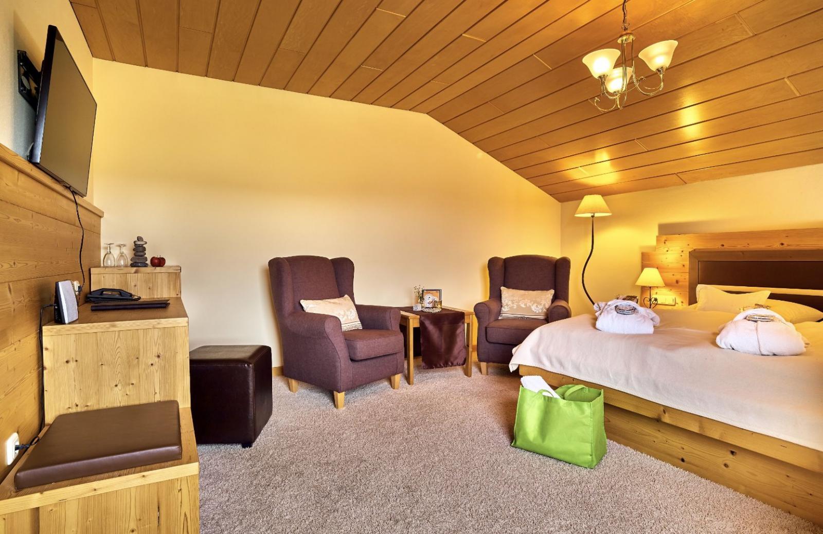 Irisches Dampfbad: Foto vom Wellnesshotel Wellness und Wohlfühlhotel St. Gunther   Wellness Bayerischer Wald