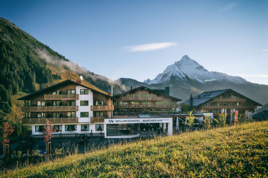 Neues Wellnesshotel: Wellnesshotel Warther Hof | Warth am Arlberg