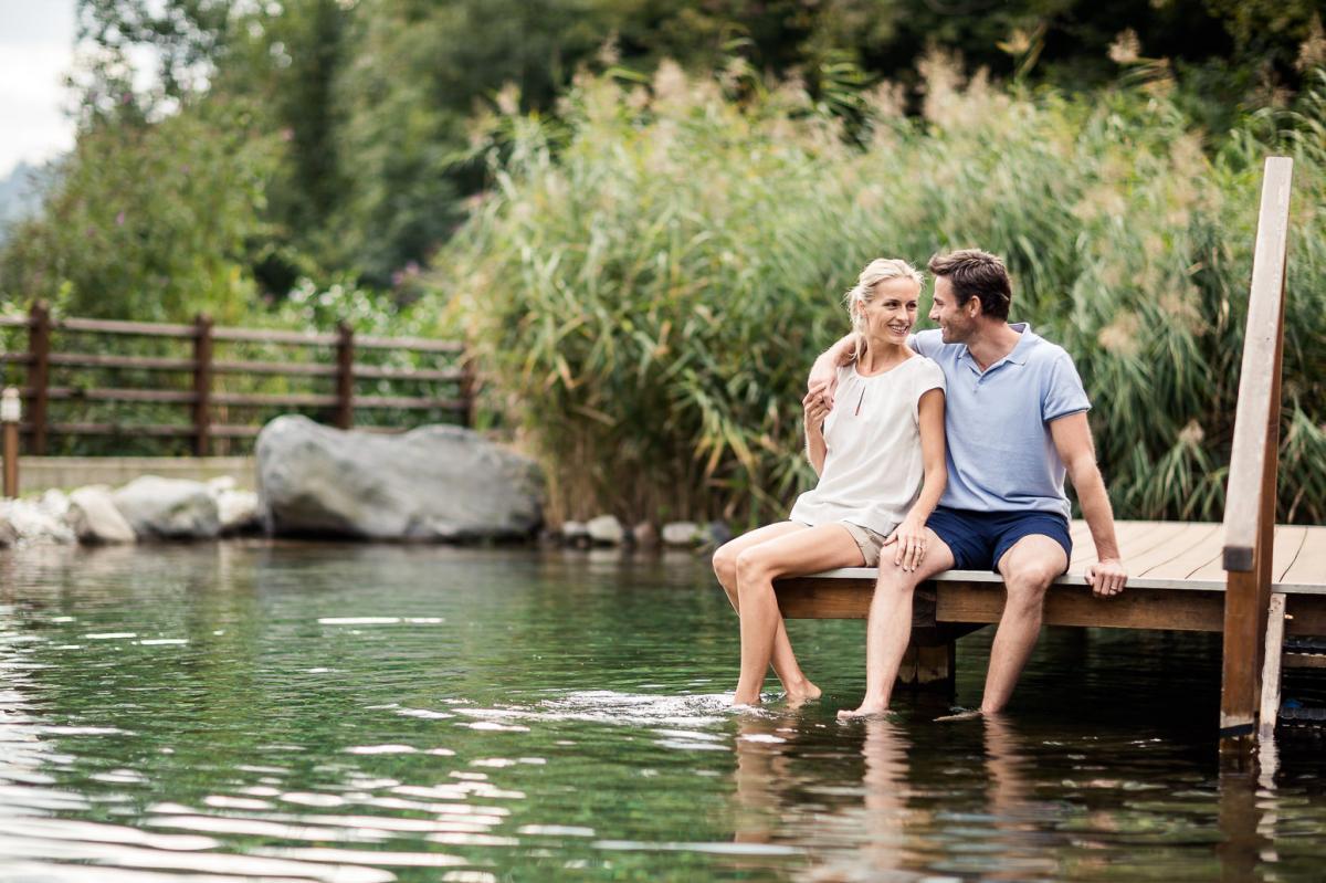 Zeit zu zweit genießen ... Romantische, prickelnde Stunden erleben ...
