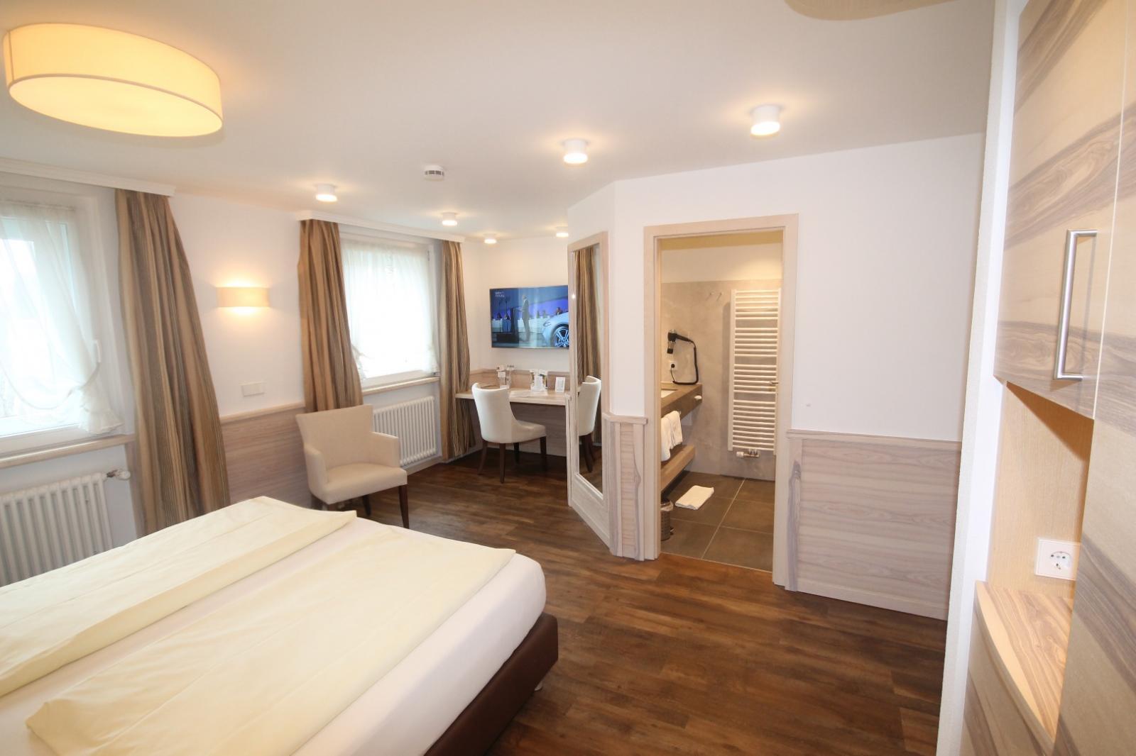 Bild zum Wellness-Angebot 5 = 4 im Neuen Schlossblick-Doppelzimmer