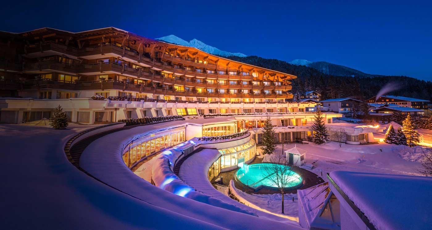 Luxus Wellness Tempel Hotel Bayern